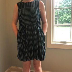 Marc by Marc Jacobs 100% Silk Fit & Flare Dress